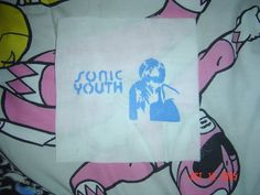 Sonic Youth D.I.Y patch