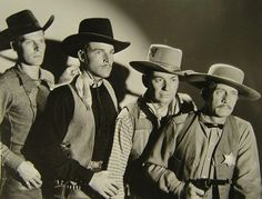 "Publicity photo of cast members from the lost film ""Nevada"" (1935)"