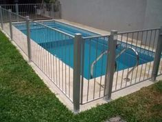 Cercos O Rejas Y Cercos Para Piscinas - $ 780,00 Pool Gazebo, Pool Fence, Pergola, Different Types Of Fences, Backyard Plan, Concrete Fence, House Front, Dream Bedroom, Swimming Pools