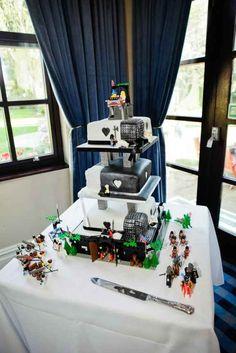 Lego base: Spectacularly Nerdy Wedding Cakes