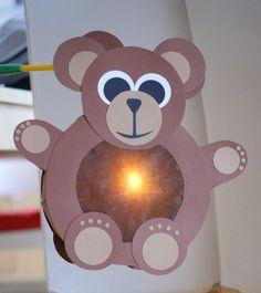 St. Martins Laterne - Teddybär