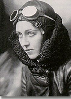 Amy Johnson was one of the first women to gain a pilot's license and won fame when she flew solo from Britain to Australia in 1930.  Later she flew solo to India and Japan and became the first woman to fly across the Atlantic East to West.  Johnson volunteered to fly for The Women's Auxiliary Air Force in World War II, but her plane was shot down over the River Thames and she was killed.
