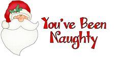 "Homemade Christmas Gift Ideas ""You've Been Naughty"" You've been naughty! You're on parole! Here's Santa's warning… A Bucke..."