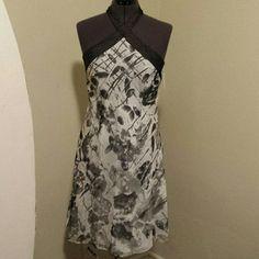 DRESS BLACK GARY AND WHITE BRAND NEW DRESS Andrew Marc Dresses Midi