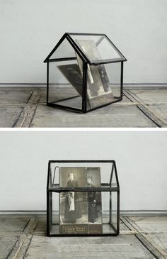 Glass House Terrarium - [ house of memories ]