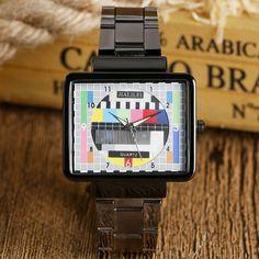 $5.33 (Buy here: https://alitems.com/g/1e8d114494ebda23ff8b16525dc3e8/?i=5&ulp=https%3A%2F%2Fwww.aliexpress.com%2Fitem%2FTV-Test-Signal-Wrist-Watch-Sport-TV-Quartz-Cool-Simple-Special-Design-Fashion-Casual-Unique-Rectangle%2F32694879050.html ) TV Test Signal Wrist Watch Sport TV Quartz Cool Simple Special Design Fashion Casual Unique Rectangle Television  Men for just $5.33