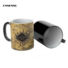 Harry Potter Marauder's Map - Heat Changing Mug from the Harry Potter Store