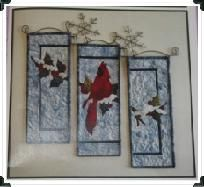 Beauty of Winter Handcrafted Quilted Wall Hanging