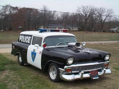 '56 Chevy POLICE car _____________________________ Reposted by Dr. Veronica Lee, DNP (Depew/Buffalo, NY, US)