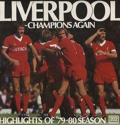Liverpool FC, Champions Again - Highlights Of The 1979/80 Season, UK, Deleted, vinyl LP album (LP record), Quality Recordings, QP32/80, 119655