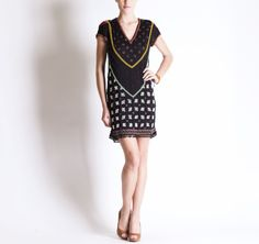 Michel Klein SS2013 Dress #ModeWalk #luxury #fashion #MichelKlein #dress #beaded #intricate