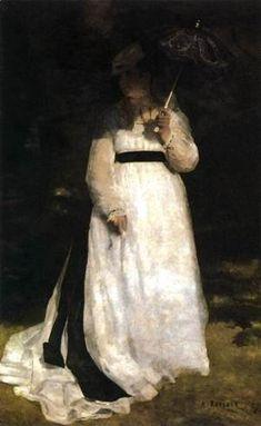 Pierre Auguste Renoir - Lise (Woman with Umbrella)