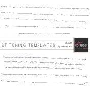 Stitching Templates #3 Kit | digital scrapbooking