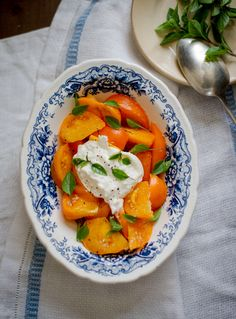 Tomato Salad Recipe with Burrata Cheese on WhiteOnRiceCouple.com