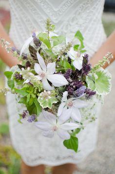 handpicked garden bouquet inspiration