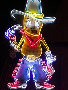 Neon sign - Nashville, Tennessee.