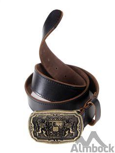 http://www.trachten24.eu/Trachtenguertel-Bayern-Wappen-Loewen-antik-anthrazit - Trachtengürtel Bayern Wappen Löwen antik (anthrazit) - Bavarian belt with coat of arms antique (anthrazite)
