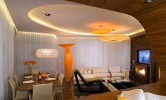 elegant orange for vase and flase ceiling designs