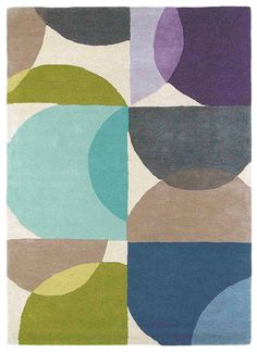 Scion Kaleido Marine 26008 hand-tufted rugs made with Wool. Available today as part of our price-match promise. Textiles, Textile Prints, Textile Design, Textile Art, Pop Art Design, Grid Design, Surface Design, Textures Patterns, Print Patterns