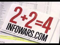 VIDEO: 2+2=4 REALITY CHECK Explain to your Common Core friends what reality is - http://www.infowars.com/video-224-reality-check/ INFOWARS.COM  BECAUSE THERE'S A WAR ON FOR YOUR MIND