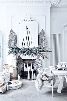 2018 christmas decorating trend scandinavian winter - Modern Christmas Decorating Ideas