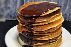 Sugar-Free, Wholemeal Banana Pancakes [Vegan]