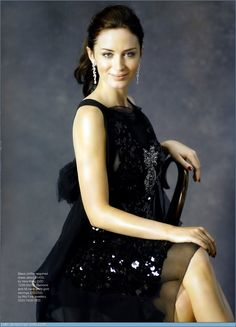 Emily Blunt YOUNG Amelia Peabody