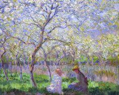 Claude Monet, Le Printemps, 1886 (source).