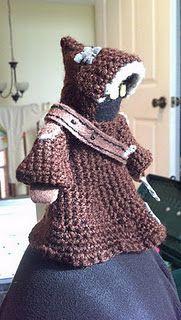 Starwars: Jawa crochet pattern