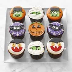 Williams-Sonoma celebrates Halloween with an assortment of gourmet Halloween candy and treats . Find tasty Halloween cookies, and desserts for trick-or-treaters of all ages. Halloween Treats For Kids, Halloween Goodies, Halloween Desserts, Easy Halloween, Halloween Decorations, Halloween Birthday, Halloween Stuff, 3rd Birthday, Halloween Clay