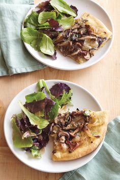 Pizza with Onions, Mushrooms & Brie | Williams-Sonoma Taste