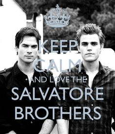 Ian Somerhalder and Paul Wesley <3 I don't know if I'll ever be able to choose.
