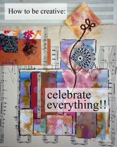 the art of celebrating...don't miss out!  When was the last time you celebrated something that didn't fit into a holiday category?