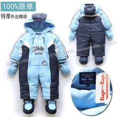 free shipping Baby boy thickening cotton romper baby bodysuit  infant one-piece romper $30.30 - 35.70