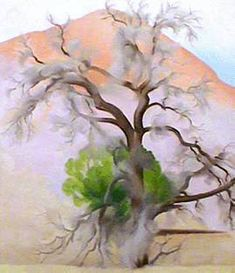 Pinions with Cedar, painting by Georgia O'Keeffe Georgia O'keeffe, Savannah Georgia, Alfred Stieglitz, Wisconsin, O Keeffe Paintings, Art Beauté, New York Art, Wow Art, Tree Art