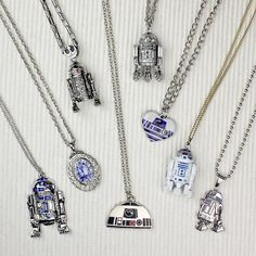 Star Wars R2-D2 necklaces