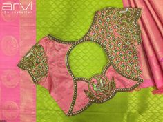 All Ethnic Customization with Hand Embroidery & beautiful Zardosi Art by Expert & Experienced Artist That reflect in Blouse , Lehenga & Sarees Designer creativity that will sunshine You & your Party Worldwide Delivery. Indian Blouse Designs, Blouse Back Neck Designs, Pattu Saree Blouse Designs, Hand Work Blouse Design, Simple Blouse Designs, Stylish Blouse Design, Bridal Blouse Designs, Cut Work Blouse, Patch Work Blouse Designs