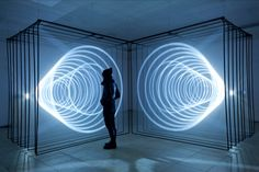 """Sights and Strangers: """"DAYDREAM"""" light installation by Nonotak"""