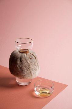 SIMON BALLEN - The importance of indigenous wisdom - Water Jar with reindeer fur.
