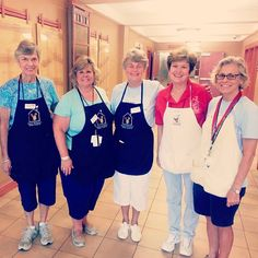 Our Tuesday morning volunteers are some of the sweetest people! We love them, and so do our families!