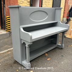 Your guests will sing a song when they see this beautiful upcycled piano-come-desk. Perfect to use in your office or as a stylishly quirky sideboard in your home. We loved creating this piece.