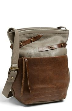 Kelsi Dagger 'Gabi' Crossbody Bag | Nordstrom Such an easy, cool everyday bag.  That taupe color would look very nice tossed over my sea of black. $268