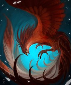 Phoenix by iZonbi.deviantart.com on @deviantART