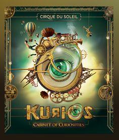 »✿❤Steampunk❤✿« media preview of Kurios, Cirque du Soleil's 35th production since 1984