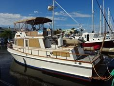 1980 Grand Banks 2 Stateroom 42 Classic Power Boat For Sale -