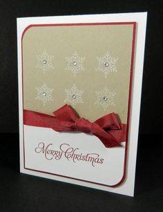 SUO Merry Snowflakes by J_Belanger - Cards and Paper Crafts at Splitcoaststampers