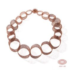 Orbits collection: Orbits of Mars in copper, Joi Jo Jewelry
