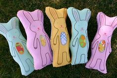 bunny softies for easter