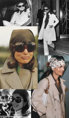 The Jackie Onassis look - a much different look from the elegant attire of the Kennedy years. She dressed more casually in jeans and slacks as Mrs. Onassis she is carrying her Hermes handbag. Estilo Jackie Kennedy, Os Kennedy, Jaqueline Kennedy, Jacqueline Kennedy Onassis, Jackie Oh, Looks Style, My Style, Turbans, Classy Women