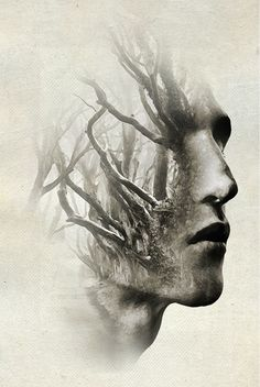 ANTONIO MORA (aka mylovt) ~ a Spanish artist who combines with talent portraits photographed in various landscapes. Double Exposure Photography, Art Photography, Photoshop, Multiple Exposure, Foto Art, Photo Manipulation, Manipulation Techniques, Antonio Mora, Dark Art